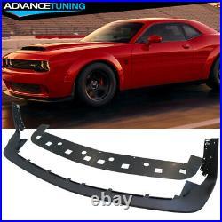 Fits 15-19 Dodge Challenger Hellcat to Demon Conversion Lip + Fender Flares Kit