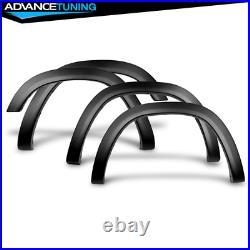 Fits 19-21 Dodge Ram 1500 OE V2 Style Textured Black Fender Flares 4PCS