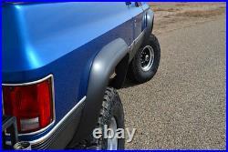 Fits 73-80 Blazer CK Truck Jimmy Suburban Xenon Urethane Fender Flares Kit 8390