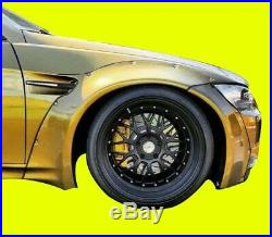 Fits BMW E92 M3 GTR-S Rivet On Wide Body Kit 2DR'07-'13 FRP Fender Flares L
