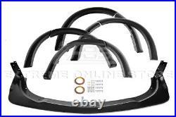 For 15-21 Dodge Charger SRT Wide Body Front Bumper Lip Side Fender Flares Pair