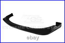 For 15-21 Dodge Charger SRT Wide Body Front Lip with Side Fender Flares Pair