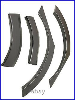 For 17-21 Honda Civic 5dr Wide Rear Fenders Flares Type R Style Kit -4 Piece