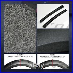 For 1993-2011 Ford Ranger Textured Blk Boss Pocket Style Fender Flares Cover 4Pc