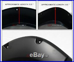 For 2004-2015 Titan Bedside Toolbox Blk Pocket Fender Flares Kit Wheel Cover 5Pc