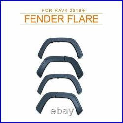 For 2019-2021 TOYOTA RAV4 FENDER FLARE Kit Matt Black WHEEL ARCH 6PCS