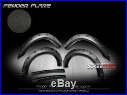 For 93-11 Ford Ranger Textured Black Boss Pocket Bolt Rivet Style Fender Flares