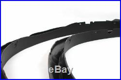 For BMW X5 F15 2014 -2016 Wheel Arch Fender Flares 4PCS Black Cover Trims