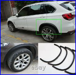 For BMW X5 Wheel Arch Fender Flares 4PCS Black Cover Trims 2007 -2013