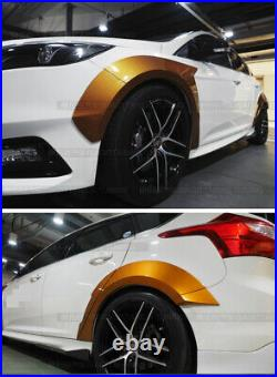 For Ford Focus RS ST 2015-2018 Primer Fender Flare Kit Wheel Arch Cover Trim 10X