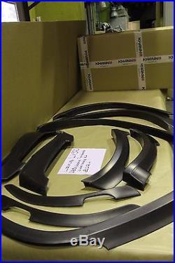 For LEXUS LX570 2012-2015 KHANN WIDE BODY KIT WHEEL ARCH EXTENDER FENDER FLARES