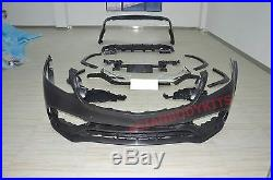 For Mercedes Benz GLS 166 BODY KIT GLS63 front bumper fender flares rear bumper