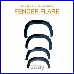 For Mercedes Benz X-class X Class 2017-ON FENDER FLARE Kit WHEEL ARCH Matt Black