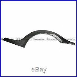 For Nissan Skyline R35 GTR Rear Fender Flares Arches Kit TS Style Carbon Fiber