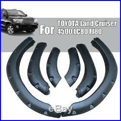 For TOYOTA Land Cruiser 4500 LC80 FJ80 Wheel Arch Cover Trim Fender Flare Kit