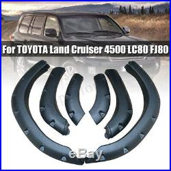 For TOYOTA Land Cruiser 4500 LC80 FJ80 Wheel Arch Cover Trim Fender Flare Kits