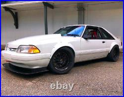 Ford Mustang3 Fender Flares JDM wide body kit wheel arch foxbody3.590mm 4pcs KL