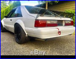 Ford Mustang Foxbody 3 Fender Flares JDM Wide Body Kit Wheel Arch 3.5 90mm 4pcs