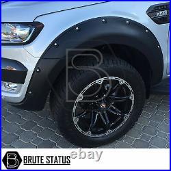 Ford Ranger 2016-19 Wide Body Wheel Arches Fender Flares Kit T7 (Raptor UK)