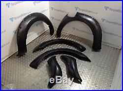 Ford Ranger Wide Body Wheel Arches Fender Flares full kit TEXTURED