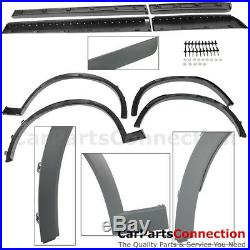 Front Rear Complete Kit 2015-2017 BMW X3 F25 Side Skirt Fender Flare Muffler Tip