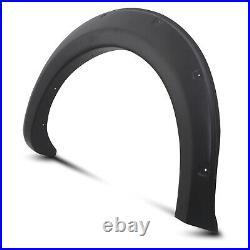 Front Rear Wide Body Wheel Arch Fender Flare Kit For Mitsubishi L200 Triton 15