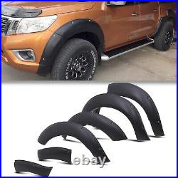 Front Rear Wide Body Wheel Arch Fender Flare Kit For Nissan Navara Np300 15