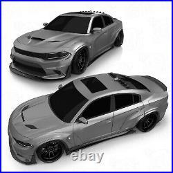 Front fender flares LION'S KIT V1 for Dodge Charger VII th LD S2 15