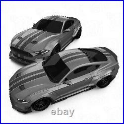 Front widebody fender flares LION'S KIT V2 for Ford Mustang VI 6 S550 18