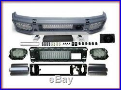 G63 Front Bumper + 4 Fender Flares AMG Body Kit G500 G55 Conversion G-Wagon New