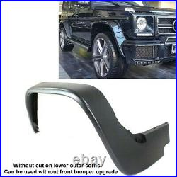 G63 G55 AMG set of 4 fender flares WITHOUT CUT G-Wagon Body Kit No need Bumper