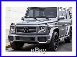 G63 G63 AMG set of 4 fender flares trims G-Wagon Body Kit Bumper grille mesh new