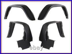 G63 G65 Amg 4 Fender Flare + Front Bumper Conversion Facelift Body Kit Cover New