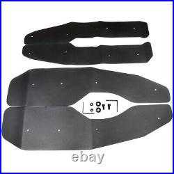 G&S Racing Fender Flare Kit Flares Extensions POLARIS RZR 570 2012-2020