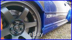 Genuine ABW Vw Golf Mk4 Arch Fender Flares Full Kit