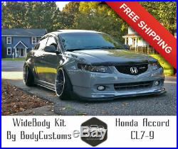 Honda Accord CL7-9 Modulo (Acura TSX) Wide Body Kit Fender Flares