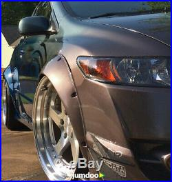 Honda Civic FG2 fender flares JDM wide body kit ABS 3.5 90mm 4pcs