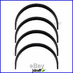 Honda Integra Fender Flares JDM wide body kit wheel Arch Extensions 50mm 4pcs