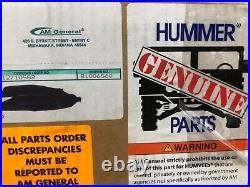 Hummer H1 Fender Flare Kit 5745440 AM General
