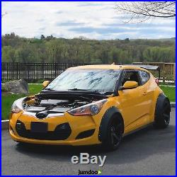 Hyundai Veloster Fender Flares Concave Wide Body Kit Arch Extension