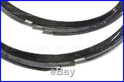 IMPERFECT For 14-Up Corvette C7 CARBON FIBER Front Wheel Fender Flare Extensions