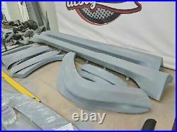 Jeep Grand Cherokee SRT fender flares body kit wide body skirts 2011-2020