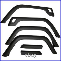 Jeep Wrangler Fender Flare-Replacement Kit Front Rear Rugged Ridge 11603.01