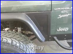 Jeep Wrangler TJ 6'' Flare Tube Fenders D. I. Y. Kit
