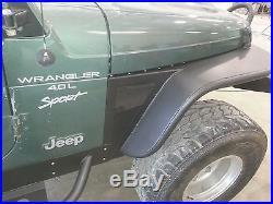 Jeep Wrangler TJ 6'' Flare Tube Fenders Set D. I. Y. Kit