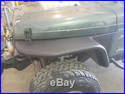 Jeep Wrangler YJ 6'' Flare Tube Fenders Set D. I. Y. Kit