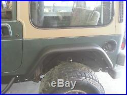 Jeep Wrangler YJ Rear 6'' Flare Tube Fenders D. I. Y. Kit