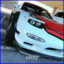 Jumdoo Fender flares for Mazda RX-7 FD wide body kit Arch Extensions 2.0+3.5