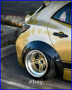 Jumdoo Fender flares for Toyota Corolla XII JDM wide body kit ABS 90mm 3.5 4pcs