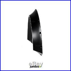 Kotflügelverbreiterung Universal Radläufe Fender flares JDM CONCAVE 90mm 4 Stück